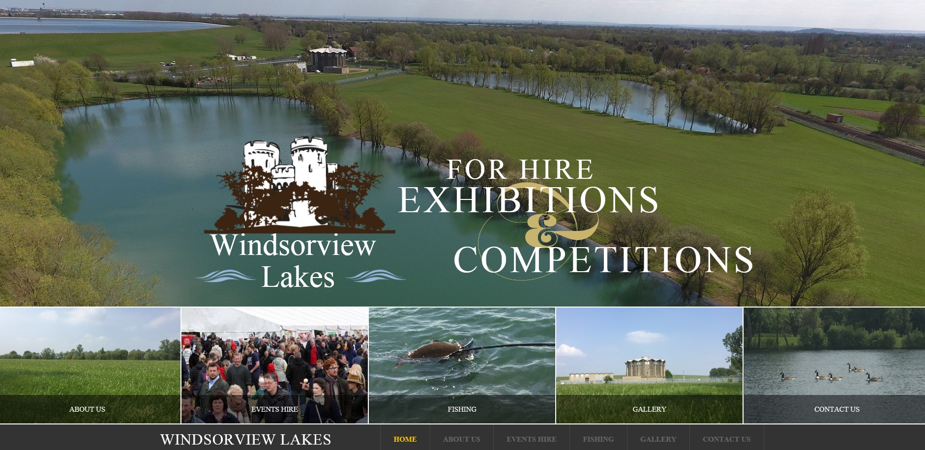 Website for Windsorview Lakes